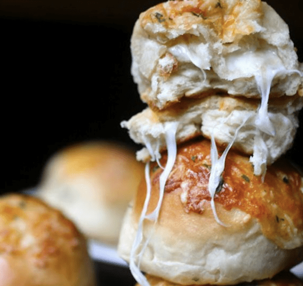 Cheese Stuffed Garlic Knots